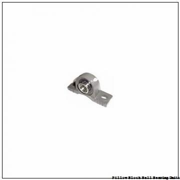 0.625 Inch | 15.875 Millimeter x 1.281 Inch | 32.537 Millimeter x 1.5 Inch | 38.1 Millimeter  Sealmaster SRP-10 Pillow Block Ball Bearing Units