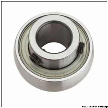 30,1625 mm x 62 mm x 36,51 mm  Timken G1103KLLB Ball Insert Bearings