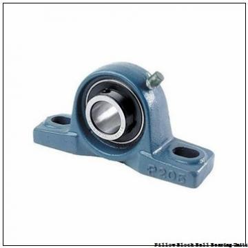 1.375 Inch | 34.925 Millimeter x 1.688 Inch | 42.87 Millimeter x 2.375 Inch | 60.325 Millimeter  Sealmaster SP-22T Pillow Block Ball Bearing Units