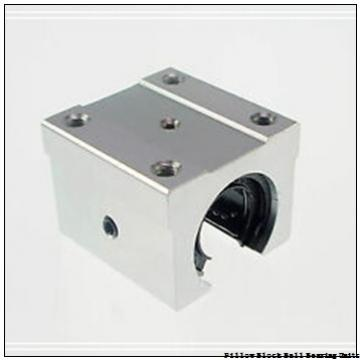 3.9375 in x 11-3/4 to 14-3/4 in x 5-3/8 in  Sealmaster EMPD63 Pillow Block Ball Bearing Units