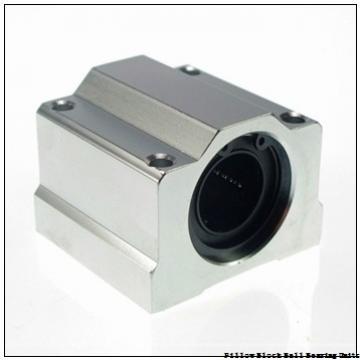 1.438 Inch | 36.525 Millimeter x 1.688 Inch | 42.87 Millimeter x 1.813 Inch | 46.05 Millimeter  Sealmaster NPL-23C Pillow Block Ball Bearing Units