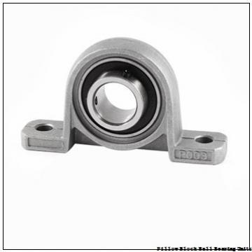 1.25 Inch | 31.75 Millimeter x 1.688 Inch | 42.87 Millimeter x 1.875 Inch | 47.63 Millimeter  Sealmaster NP-20T Pillow Block Ball Bearing Units