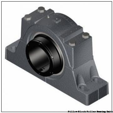 6.4375 in x 20-7/8 to 23-5/8 in x 8-3/4 in  Rexnord MAF5607F Pillow Block Roller Bearing Units