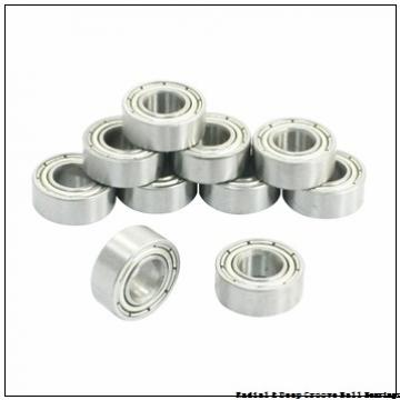 0.5000 in x 1.3750 in x 0.4375 in  Nice Ball Bearings (RBC Bearings) 1621DCTNTG18 Radial & Deep Groove Ball Bearings
