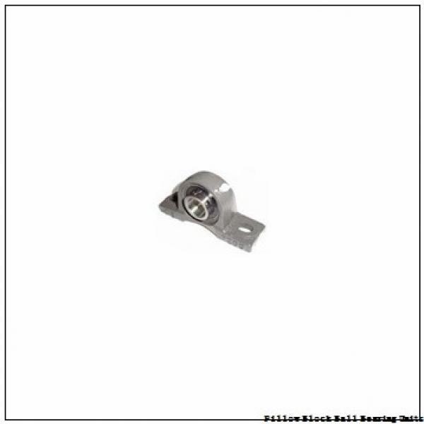 2.438 Inch | 61.925 Millimeter x 3.5 Inch | 88.9 Millimeter x 3 Inch | 76.2 Millimeter  Sealmaster MPD-39 CXU Pillow Block Ball Bearing Units #2 image
