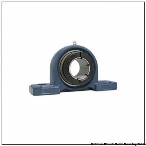 1.1875 in x 5.3750 to 6.1250 in x 1.6875 in  Sealmaster SPM-19 HTA Pillow Block Ball Bearing Units #1 image